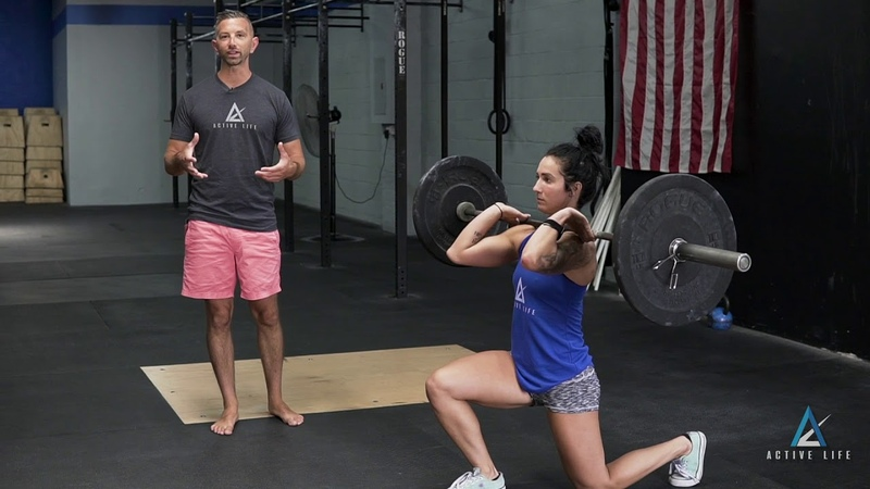 Front Rack Lunge (2018)