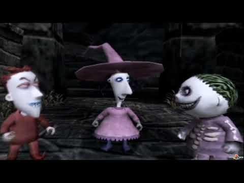 (PS2) Tim Burton's The Nightmare Before Christmas - Boogie no Gyakushuu (SLPM-66131) Intro