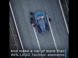 #LEGO - We've built the impossible_ a full-sized LEGO Technic #Bugatti Chiron …and it drives! #Buildf