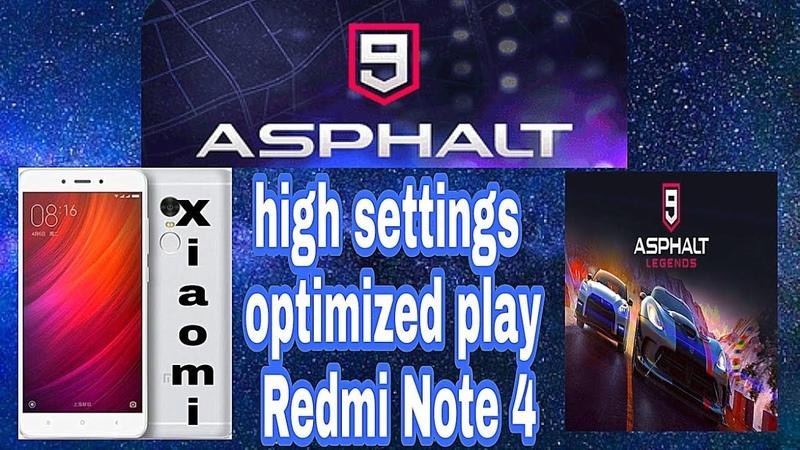 Asphalt 9 - high settings optimized play Redmi Note 4 ( Gl Tools )