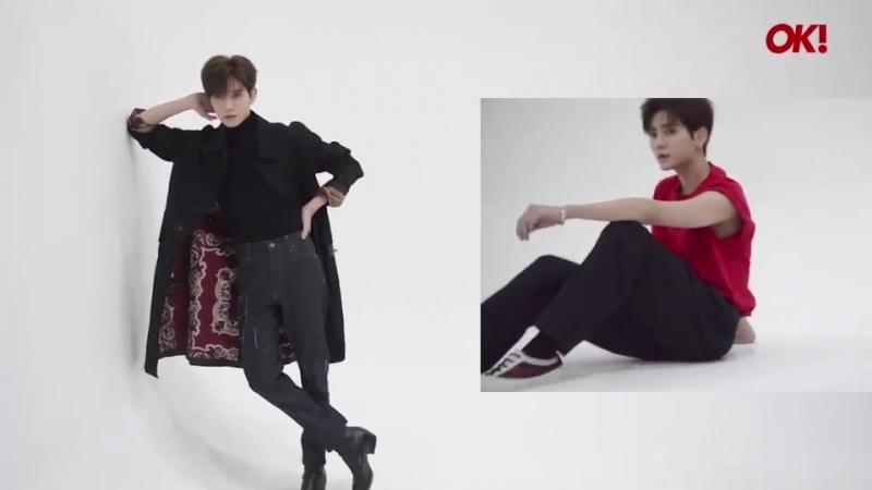 [VIDEO] Рен на съёмках для журнала OK! Magazine Thailand