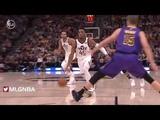 Юта Джаз - Лос-Анджелес Лейкерс Обзор матча НБА 12 января 2019
