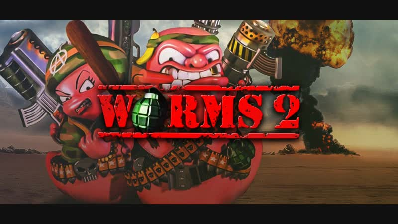 Worms 2@1997 Gameplay Match 3 MEGA Classic