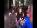 Белла покидает отель «Royal Monceau», Париж (22.06.18)