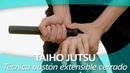 TAIHO JUTSU 20 sistema japonés defensa personal policial Técnica bastón extensible cerrado