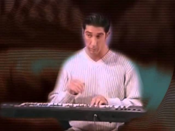 ROSS GELLAR PLAYS DEATH GRIPS FOR HIS FRIENDS
