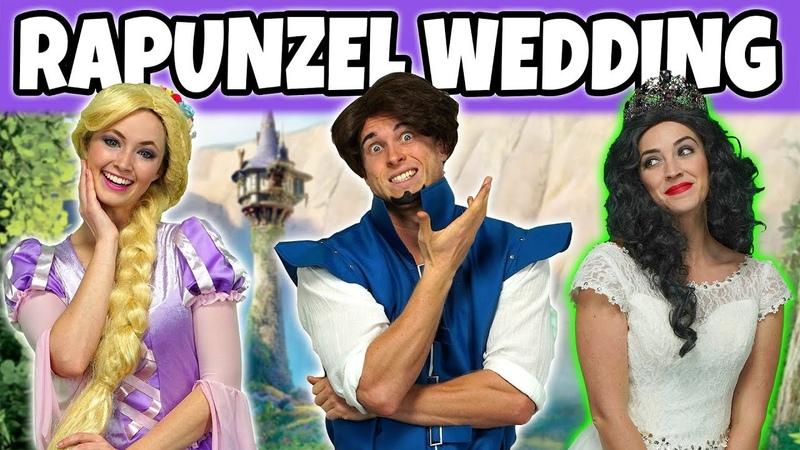 RAPUNZEL WEDDING. WILL FLYNN RIDER MARRY RAPUNZEL or MOTHER GOTHEL? (Totally TV)