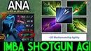 ANA [Drow Ranger] Imba Shotgun 258 Agi Pro Gameplay 7.19 Dota 2