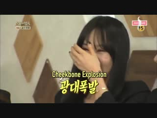 Remember the time when Mamamoo were just rookies and RBW banned Byul from laughingsmiling too much on screen because they though