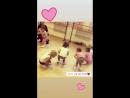 Студия ритмопластики на шпагате♥️ Видео с урока 14 09