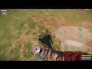 [xteenz] ОТЖИМ ОРУЖИЯ У КЛАНОВ - Rust Solo выживание