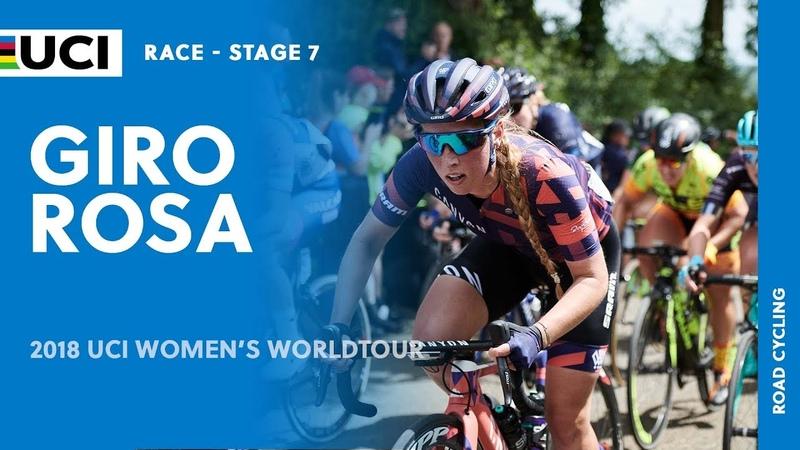 2018 UCI Womens WorldTour – Giro Rosa stage 7 – Highlights