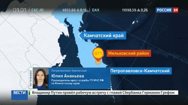 Новости на Россия 24 • В крупном ДТП на Камчатке пострадали 20 человек