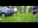 Грузовик TRUCK FEST против команды американских футболистов