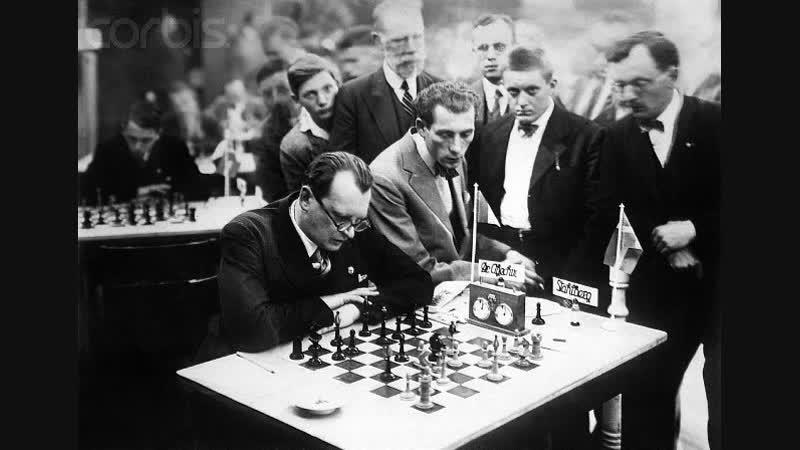 Шахматист Александр Алехин - непобеждённый чемпион(ум.1946г.)