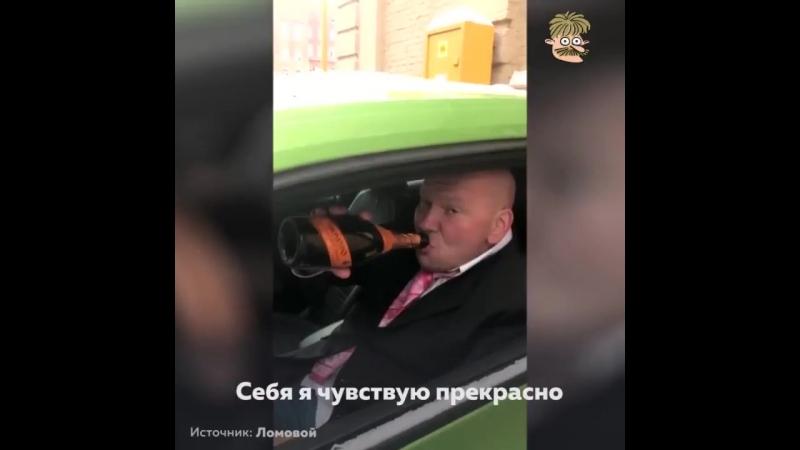 ПростоУлыбнуться Запрету отстранения пьяных судей от управления машиной, посвящается