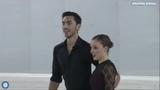 Giada RUSSO &amp Jaime GARCIA Rhythm Dance Italian Figure Skating Championships 2018