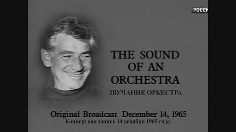 Леонард Бернстайн 3. Звучание оркестра 1965