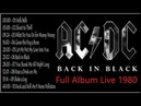 ACDC Greatest Hits Full Album 2019 - Back In Black Full Album Live