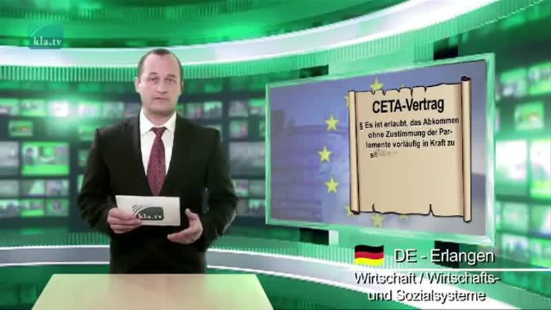 CETA – Die EU-Kommission spielt ein falsches Spiel _ 04.10.2016 _ www.kla.tv_911