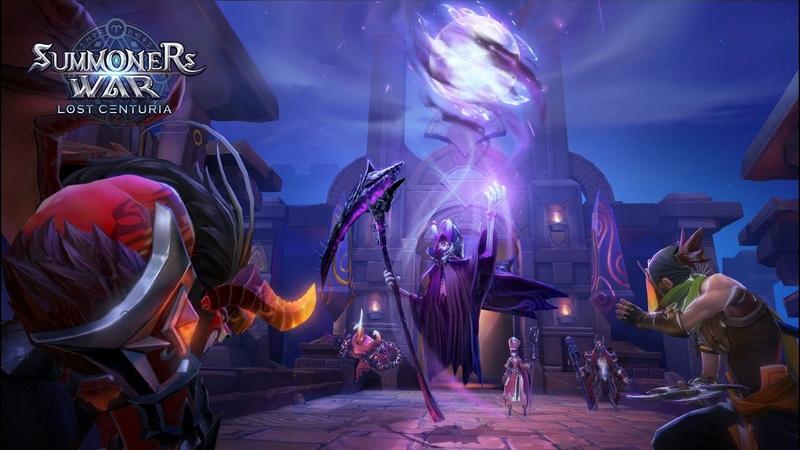 Summoners War: Lost Centuria - Новая игра от Com2us ➔ Начальный пак на Б10 Дракона через сестёр ✔