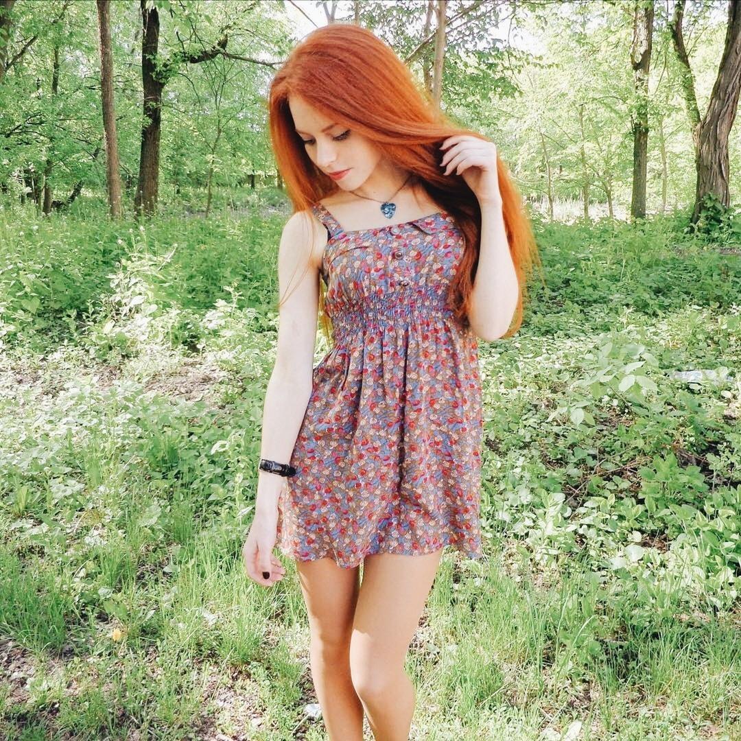 Домашнее фото русских девчонок с рыжими волосами