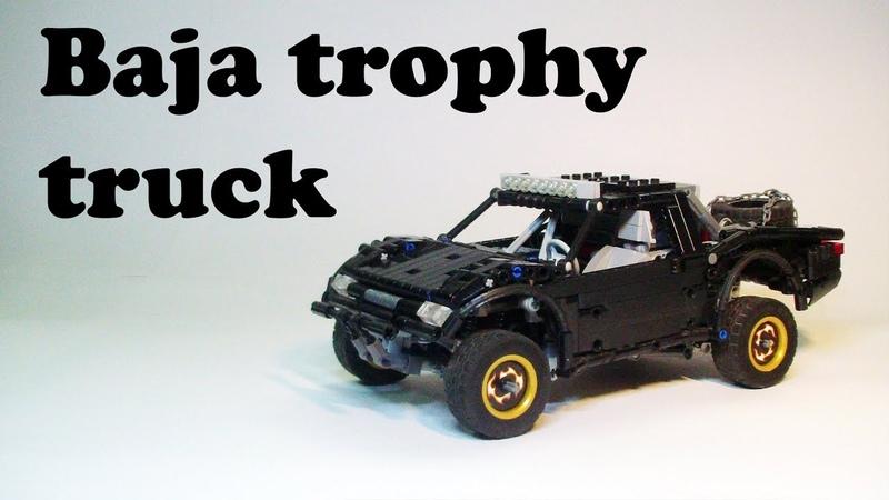 Lego technic baja trophy truck with sbrick