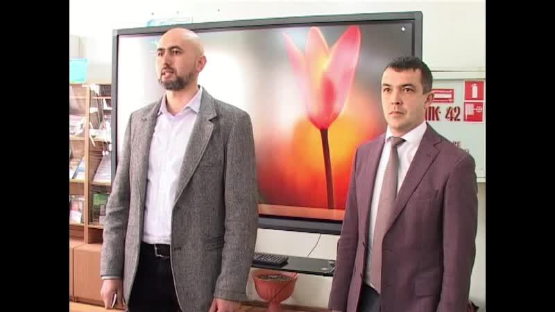 Встреча в КИПУ с руководителем фонда За трезвый Крым Платицыным Ю.В.