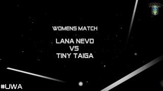 Lana Nevo vs Tiny Taiga @ FanExpo2018, 19-08-2018