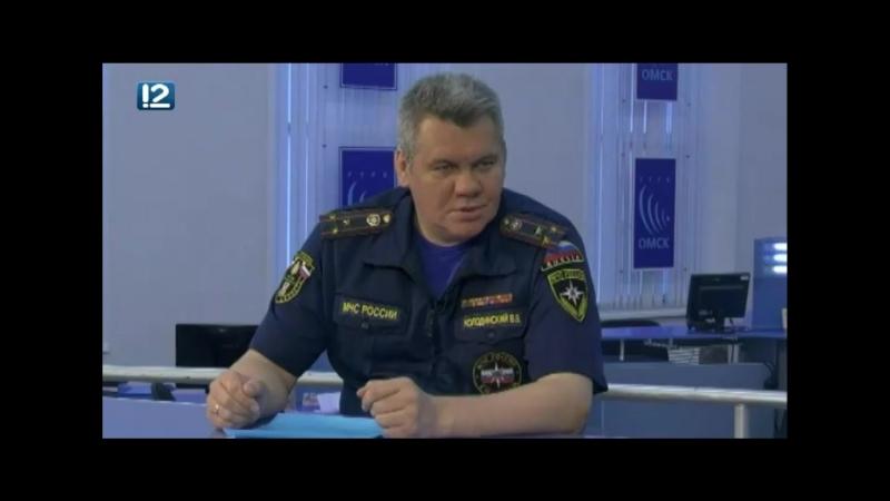 Главный омский спасатель рассказал о снижении числа погибших на водоемах области