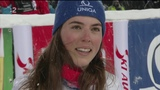 Mikaela Shiffrin 2nd run SL WC Flachau