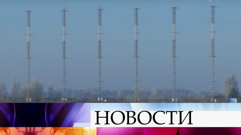 В Мордовии заступила на опытно-боевое дежурство радиолокационная станция «Контейнер».
