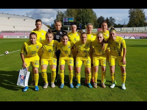 WU19EURO Qualifying round Ukraine Faroe Islands 4 0 02 10 2018