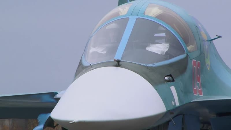 Уральские Сушки Су-34 дозаправка