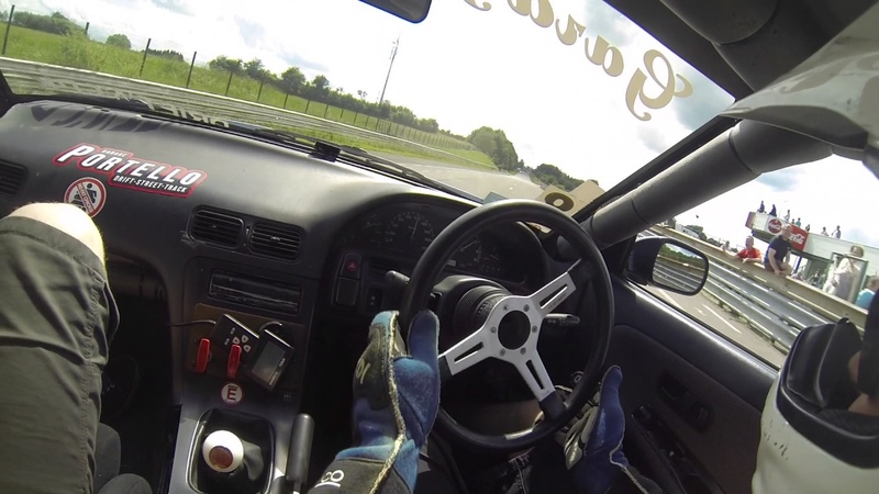 Pieter Gouwy drift demo raw footage onboard chimay 2017