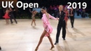 Petar Daskalov Zia James (GBR) - UK Open 2019 - Amateur Latin   Semi-Final Cha Cha Cha