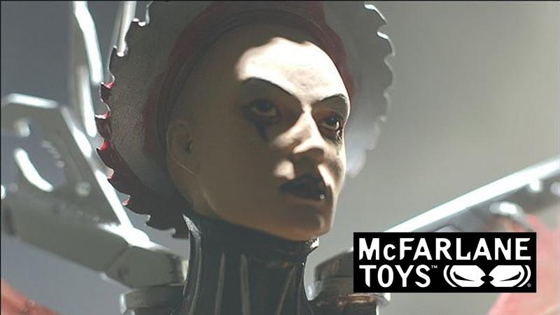 McFarlane toys. Clive Barker's tortured souls 2: the fallen. Camille noire (17)