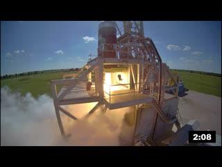 Квалификационное огневое испытание второй ступени РН Firefly Alpha | 25.04.2019