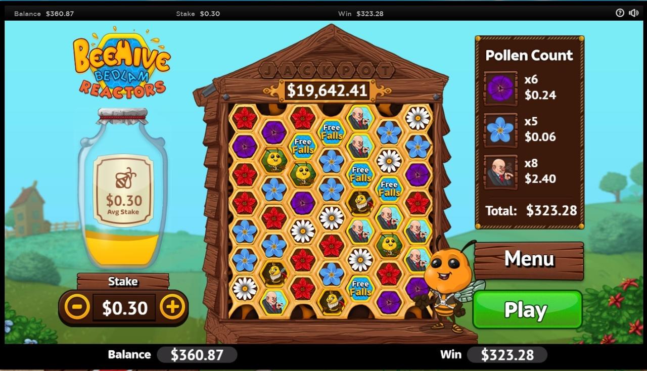 Обзор игрового автомата Beehive Bedlam