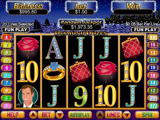 Обзор онлайн игрового автомата Diamond's Delight