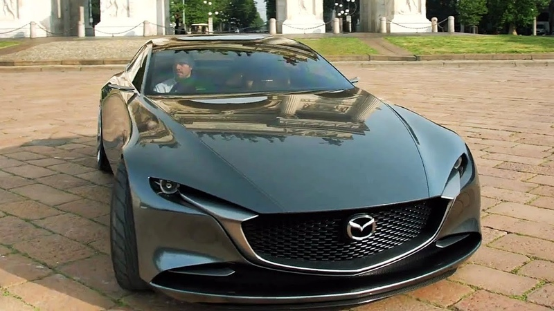 Mazda Vision Coupe - Interior, Exterior Driving