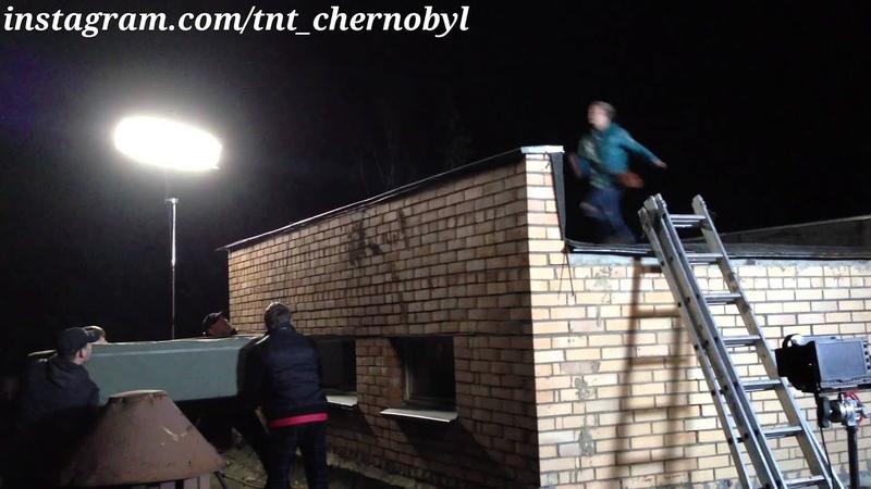 Кристина Казинская (Аня) , Съёмки Чернобыль на ТНТ