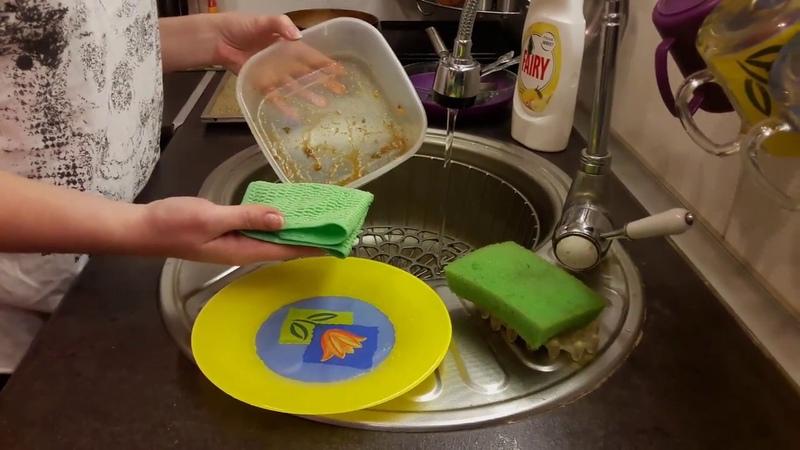 Моем посуду без химии Салфетка AQUAMAGIC от компании GREENWAY