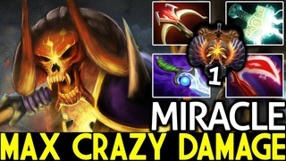 Miracle- [Clinkz] Max Crazy Damage Top 1 EU 28 Kills 7.19 Dota 2