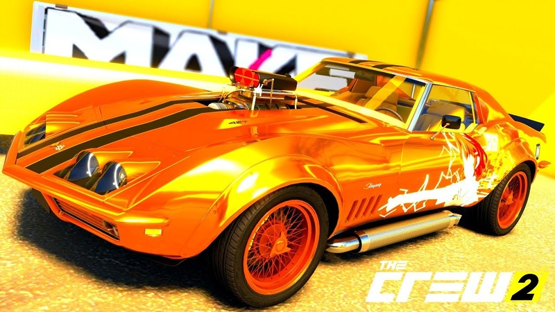 THE CREW 2 GOLD EDiTiON TUNiNG CHEVROLET CORVETTE C3 PART 484