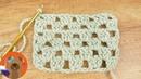 Вязание крючком в стиле Гренни рядами DIY Простой узор для летних изделий