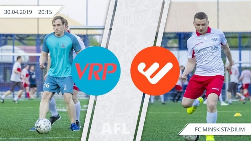 AFL IT, 1-й тур: VRP Consulting 5:3 WorkFusion