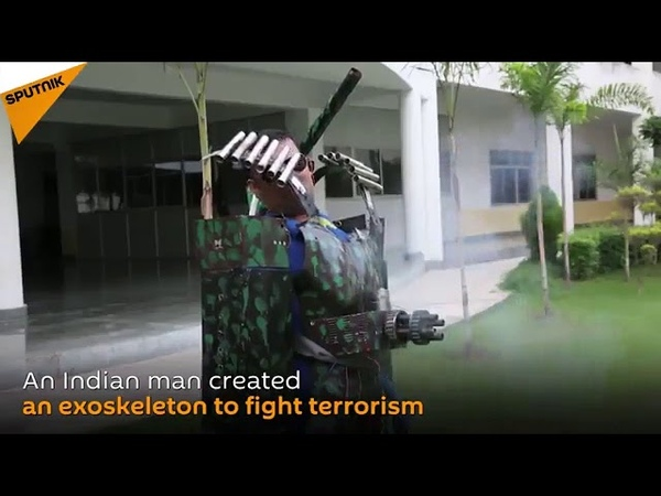 Индийский Железный Человек!