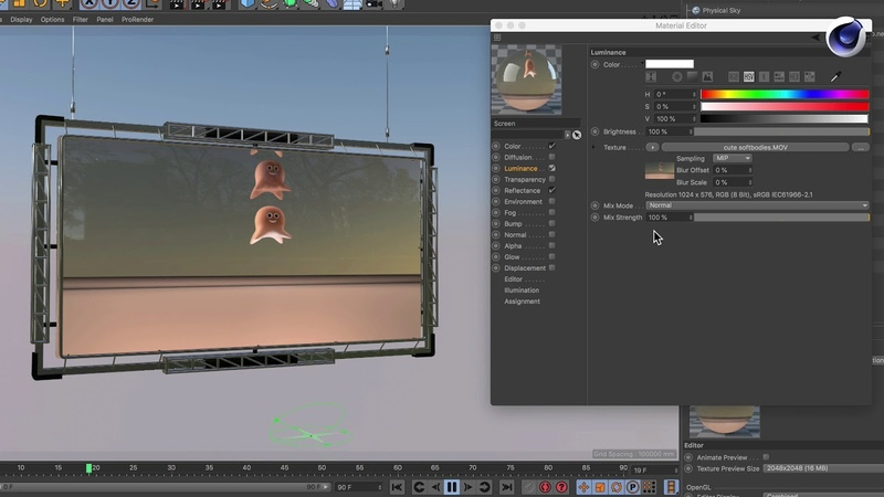 Tip - 205 How to get an animated texture in the viewport