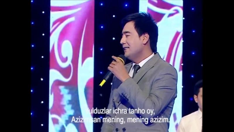 Jasurbek Jabborov va Dilnoza Akbarova - Azizam (concert version) (online-video-cutter.com)